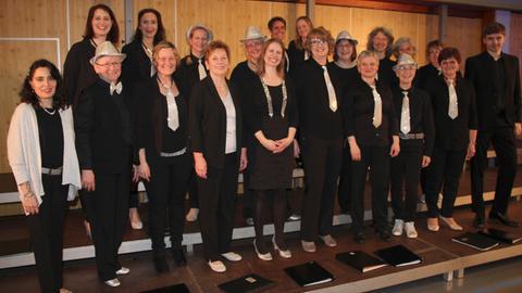 Der gemischte Chor Singflut aus Burghaun steht im Finale beim hr4-Chorwettbewerb 2019