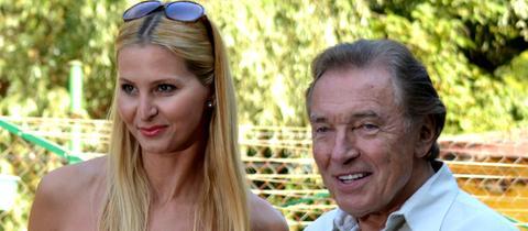 Karel Gott und seine Frau Ivana (2013)