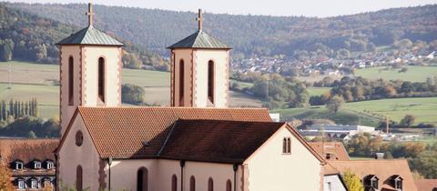 Die Kirche St.-Peter in Gelnhausen