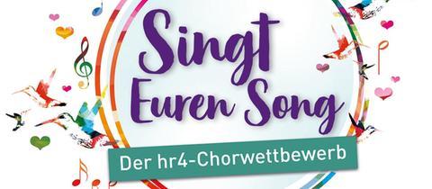 """Das Logo von """"Singt Euren Song"""" - Der hr4-Chorwettbewerb"""