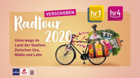 Die hr1/hr4-Radtour kommt im August 2021