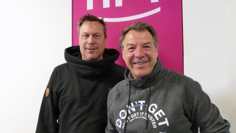Patrick Lindner und Jens Schulenburg