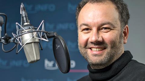 hr-iNFO Redakteur und Moderator Riccardo Mastrocola