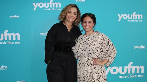 Rita Ora im YOU FM-Studio