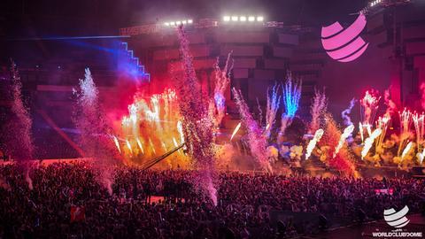 Spektakel in der Commerzbank-Arena, der BigCityBeats WORLD CLUB DOME