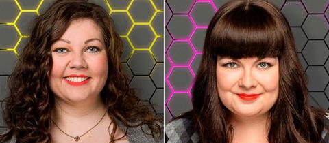Die YOU FM Moderatorinnen Karen Scholz (li.) und Kadda Lentz