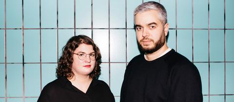 YOU FM-Moderatorin Anke van de Weyer und Rapper Yassin