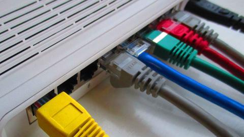 LAN Schnittstellen bei einem Router