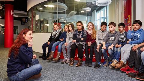 Kinderführung in Frankfurt