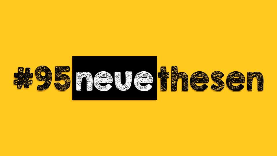 Logo #95neuethesen