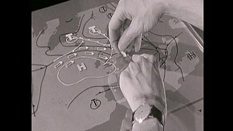 60 Jahre Wetterkarte