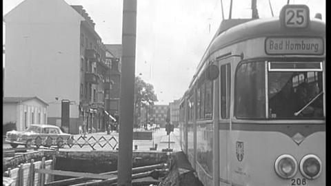 1963: Frankfurt baut seine U-Bahn
