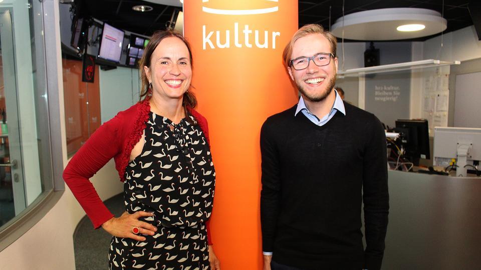 Catherine Mundt mit Programmmacher Christian Zimmermann