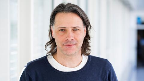 Porträt hr-Produktionsleiter Dominik Diers