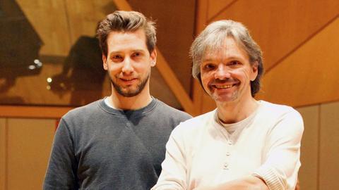 Fabian Brosi und Helfried Wildenhain
