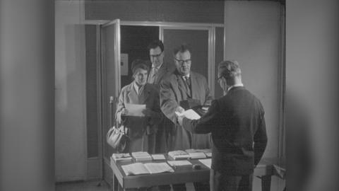 Schätze aus dem hr-Archiv: Vorwahl hat begonnen