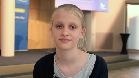 Finja: Teilnehmerin beim Girls' Day 2018