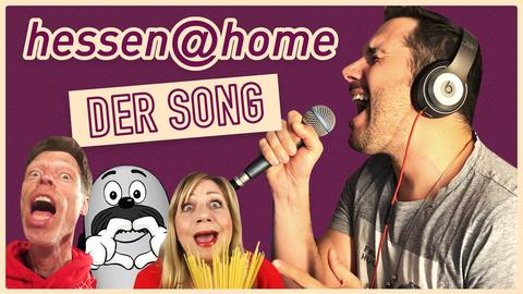 """Titelbild zum """"hessen@home""""-Song"""