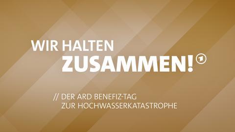 Das Logo des ARD Benefiztags zur Hochwasserkatatstrophe