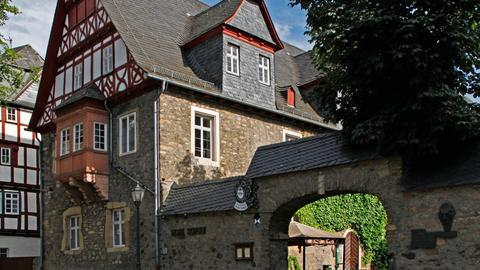 """Historische """"Hohe Schule"""" in Herborn"""