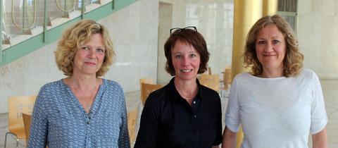 Sabine Mieder, Petra Boberg und Christina Sianides (von links nach rechts)