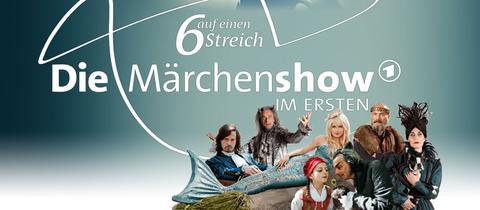 """Collage Märchenshow """"6 auf einen Streich"""""""