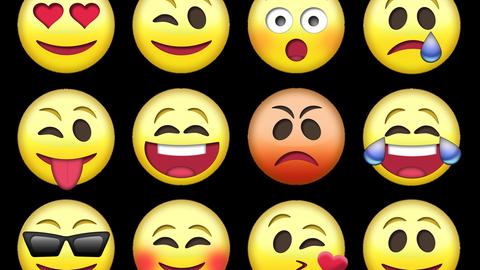 emojis zeigen Emotionen