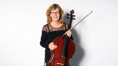 Christiane Steppan, Cellistin im hr-Sinfonieorchester und Mitglied im Orchestervorstand