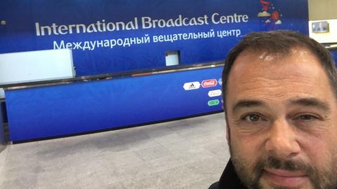 Tim Brockmeier in Moskau