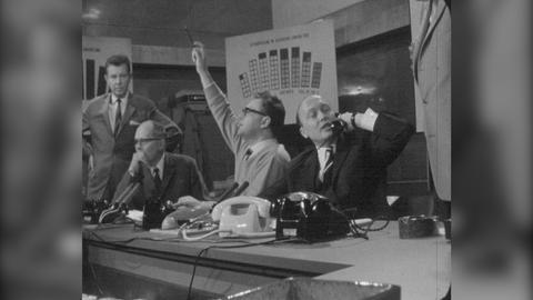 Vorschaubild Archivschatz 1966: Wahlsendung im Fernsehen