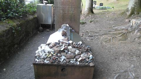 Das Grab des Wunder-Rabbis Wormser in Michelstadt