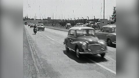 Archivschatz 1959: Radar zur Geschwindigkeitskontrolle