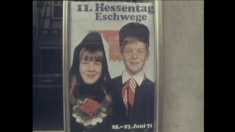 Plakat zum elften Hessentag in Eschwege