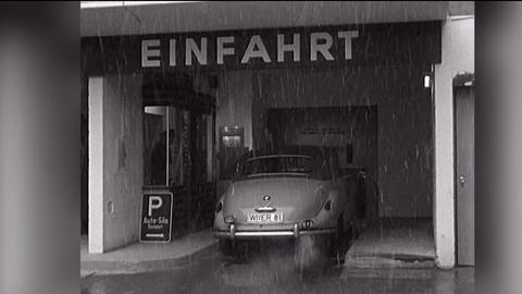 1958: Eine Hochgarage für Wiesbaden