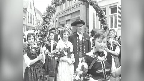 Archivschatz 1962: Odenwälder Hochzeit