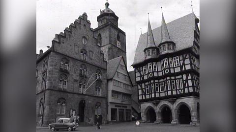 Alsfeld in Oberhessen: Der Marktplatz