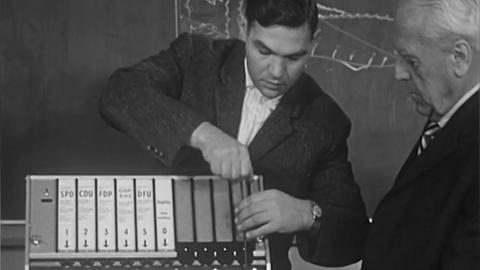 Wahlmaschine von 1962