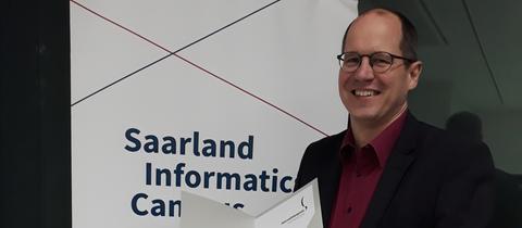 Henning Steiner erhält den Journalistenpreis Informatik 2018