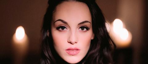 Sängerin Jenny Marsala
