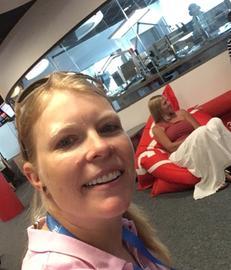 Claudia Bahlke bei der hr3-Morningshow mit Tanja Rösner