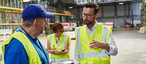 Holger Neumann, Ulrike Schmid und Peter Rothkranz