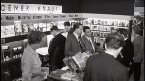 Fundstücke aus dem Archiv: Buchmesse