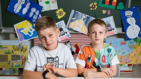 Hessenquiz: Dreharbeiten im Klassenzimmer