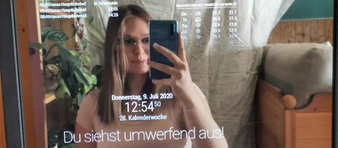 Jascha Kalina im Magic Mirror