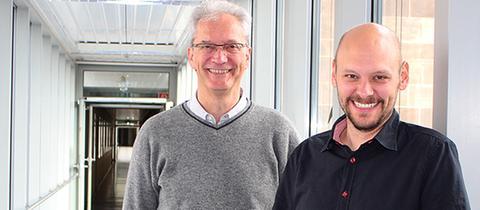 Joachim Meißner und Markus Pleimfeldner (re.).