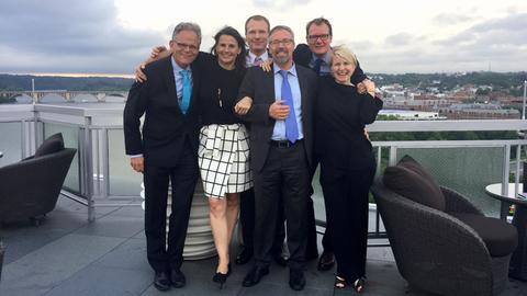 Korrespondenten-Team in Washington