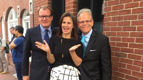 Drei Korrespondenten verabschieden sich aus Washington
