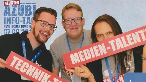 (v.l.) Robin Müller, Hendrik Kirchner und Timothy Field