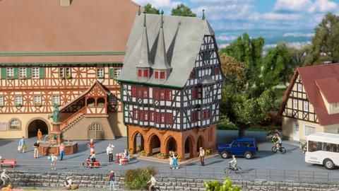 Modell des Rathauses von Alsfeld