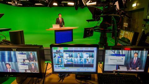 Das virtuelle Nachrichtenstudio